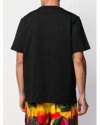 メンズ MSGM ロゴ Tシャツ Black