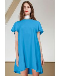 C/meo Collective - Blue Easy Rider Dress - Lyst