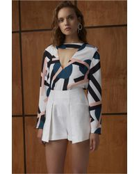 C/meo Collective - White The Nights Short - Lyst