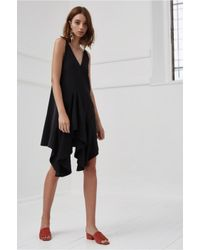 C/meo Collective - Black Spelt Out Dress - Lyst