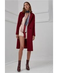 C/meo Collective | Red Better Off Coat | Lyst