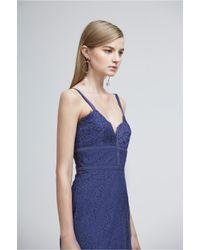 Keepsake - Blue Same Love Lace Dress - Lyst