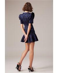 C/meo Collective Blue Levity Mini Dress