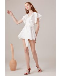 C/meo Collective - White More To Give Playsuit - Lyst