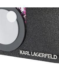Karl Lagerfeld - Yoni Alter Minaudiere Black - Lyst