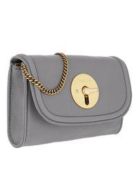 See By Chloé Gray Lois Small Crossbody Bag Somber Grey