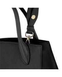 Prada Monochrome Tote Bag Small Black