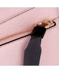 Givenchy Id Medium Bag Crackling Leather Pink