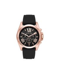 Michael Kors Mk8559 Gents Bradshaw Watch Black/rosegold