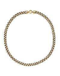 Michael Kors - Metallic Park Avenue Necklace Gold - Lyst