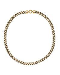 Michael Kors | Metallic Park Avenue Necklace Gold | Lyst
