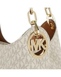 Michael Kors - Multicolor Fulton Lg Shoulder Tote Vanilla - Lyst
