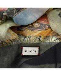 Gucci Multicolor Scarf 452711 3g856 Multi