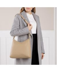 Next M Hobo Sand Furla en coloris Natural