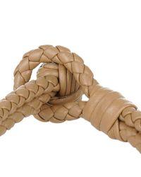 Bottega Veneta - Multicolor Intrecciato Nappa Bracelet Camel - Lyst