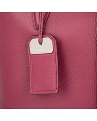 Tod's Multicolor Joy Shopping Bag Media Porpora Chiaro
