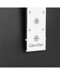 CALVIN KLEIN 205W39NYC Ck Zone Large Shopper Black/ck White