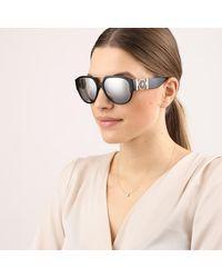 Men Sunglasses Rock Icons 0VE4371 Black Versace