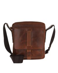 Men Loretus Remus Zip Shoulder Bag Darkbrown Joop!