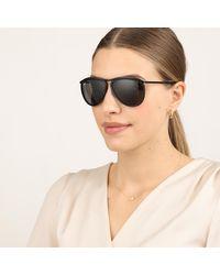 0RB2219 1305B1 Unisex Sunglasses Icons Top Wrinkled Black On Black Ray-Ban
