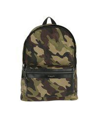 4853721551b7 Michael Kors Kent Backpack Military for Men - Lyst