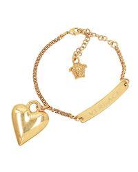 Heart Bracelet Oro Versace en coloris Metallic