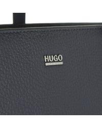 HUGO - Nadalia-r Tote Open Blue - Lyst