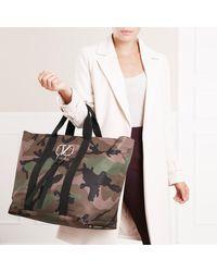 V Shopper Army Green/Brush Valentino