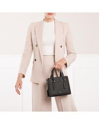 Lana S Handle Bag Black Aigner