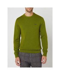 s.Oliver RED LABEL Pullover aus Baumwolle in Green für Herren