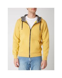 s.Oliver RED LABEL Sweatjacke mit Kapuze in Yellow für Herren