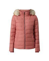 Tommy Hilfiger Pink Steppjacke TJW ESSENTIAL HOODED DOWN JACKET