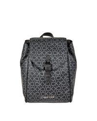 Calvin Klein Black Rucksack mit Logo-Muster