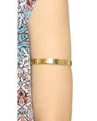 Gorjana Metallic Textured Arm Cuff