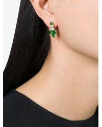 Iosselliani | Green 'all That Jewels' Earrings | Lyst