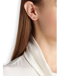 Vivienne Westwood | Metallic Farah Gold Tone Orb Earrings | Lyst