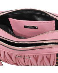 Miu Miu - Pink Matelassé Camera Bag - Lyst