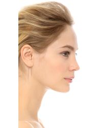 Gabriela Artigas - Metallic Hook Earring - Lyst