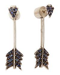 Pamela Love | Metallic Irissa Shooting Arrow Dangle Earrings | Lyst