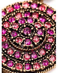 Oscar de la Renta | Purple Swarovski Crystal Necklace | Lyst