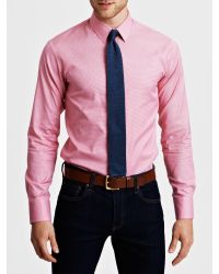 Thomas Pink | Pink Plato Single-cuff Gingham Shirt - For Men for Men | Lyst