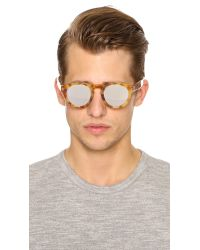 Illesteva Brown Leonard Sunglasses for men