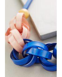 Anthropologie - Blue Ellesiv Link Necklace - Lyst