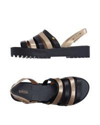 Melissa Metallic Sandals
