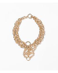 Zara | Metallic Gold Chain Necklace | Lyst