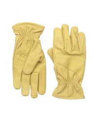 Spyder | Natural Jaxson Glove for Men | Lyst