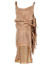 Wanted | Brown Memphis Slouchy Western Booties | Lyst