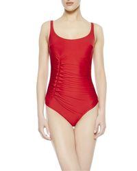 La Perla | Red Swimsuit | Lyst