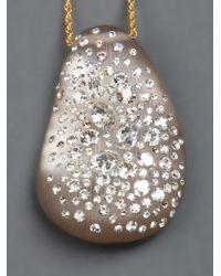 Alexis Bittar | Metallic Crystal Studded Pendant | Lyst