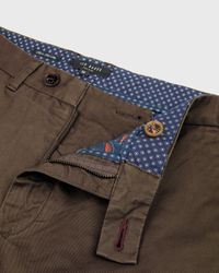 Ted Baker | Brown Slim Fit Chinos for Men | Lyst